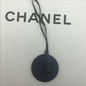 New Chanel beauty counter - round plastic charm